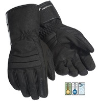 Tourmaster Mid-Tex Motorcycle Gloves w/ Waterproof Barrier - Men's Sizes XS-3XL