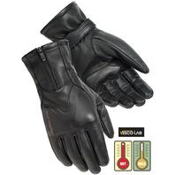 Tourmaster Trinity Women's Nappa Goatskin Motorcycle Gloves - Women's Sizes S-L
