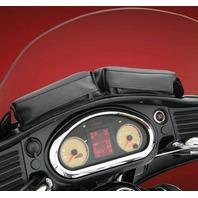 Indian 2014-2019 Roadmaster Chieftain Black Dash Twin Pouch - Hopnel V30-206BK