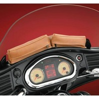 Indian 2014-2019 Roadmaster Chieftain Tan Dash Twin Pouch - Hopnel V30-206D