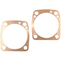 "Harley Evo Big Twin .016"" Copper Cylinder Base Gasket Pair - Cometic C9029"