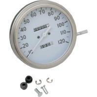 Drag Specialties DS-243877 5in. Dash Mount 2240:60 Speedometer 36-40 Face