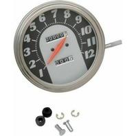Drag Specialties DS-243884 5in. Dash Mount 2240:60 Speedometer 62-67 72397M-BX33