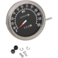 """Harley Davidson Softail FXWG   5"""" Black Speedometer Speedo 84-90"""