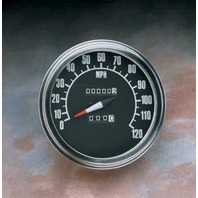 FL-Style Speedometer With Reed Switch 2240:60 68-84 Face Harley Davidson