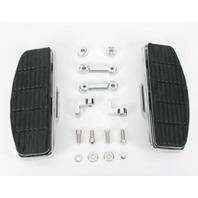 Chrome Floor Boards Floorboard Kit 84-13 Harley Softail Custom Chopper Bobber FX