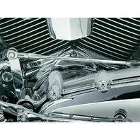 Kuryakyn 8143 Chrome Twin Cam Cylinder Base Cover for Harley Davidson