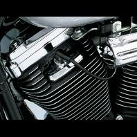 Kuryakyn 8315 Chrome Scorpion Head Bolt Covers for 1986-2003 Harley Davidson XL