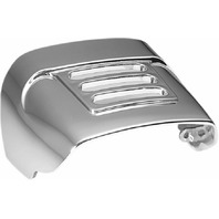 Kuryakyn 8130 Chrome Slotted Taillight Cover for 73-19 HD w/Standard Taillights