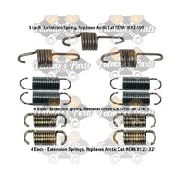 Snowmobile Exhaust Spring Replacement Kit for 2000 Arctic Cat ZL700 ZR700