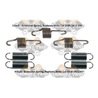 Snowmobile Exhaust Spring Replacement Kit for 2000 Arctic Cat ZR500 ZR600