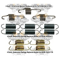 Snowmobile Exhaust Spring Replacement Kit for Arctic Cat 2001 ZR 440 Sno Pro