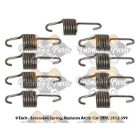 Snowmobile Exhaust Spring Replacement Kit for 2011-2013 Arctic Cat Bearcat Z1