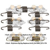 Snowmobile Exhaust Spring Replacement Kit for 2013 Arctic Cat Bearcat 570 XT