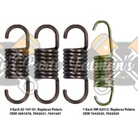 Exhaust Spring Replacement Kit for Polaris Indy 400 SKS 400 Classic Snowmobile