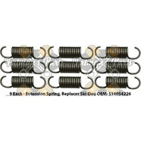 Snowmobile Exhaust Spring Replacement Kit for Ski-Doo GSX MX Z Summit X