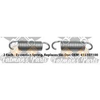 Stainless Steel Springs for Ski-Doo Formula III Mach 1 Fuel Tank Bracket
