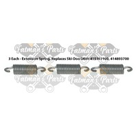 Snowmobile Exhaust Spring Replacement Kit for Ski-Doo 1996 Grand Touring 580