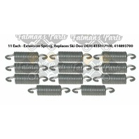 Snowmobile Exhaust Spring Replacement Kit for Ski-Doo Expedition Freestyle 550F