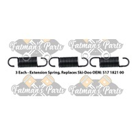 Exhaust Spring Replacement Kit for Ski-Doo Tundra II LT Snowmobile