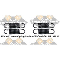 Exhaust Spring Replacement Kit for Ski-Doo Touring SLE Tundra R Snowmobile