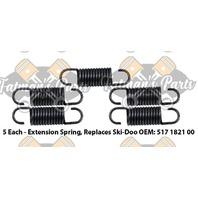 Exhaust Spring Replacement Kit for Ski-Doo Skandic 380 Touring E Snowmobile