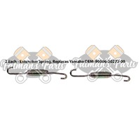 Exhaust Spring Replacement Kit for Yamaha Enticer 300 340 SS440 Snowmobile