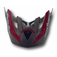 Troy Lee Designs TLD SE2 Replacement Helmet Visor - Throttle Gray 1119-0200