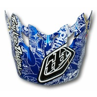 Troy Lee Designs TLD SE2 Vortex Helmet Visor- History Blue 1122-6100