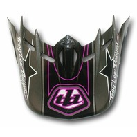 Troy Lee Designs SE Orbit Replacement Helmet Visor - Stunt Pink 1131-1900