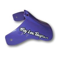 Troy Lee Designs Intrepid Pre-Drilled Universal Motorcycle Helmet Visor - Purple