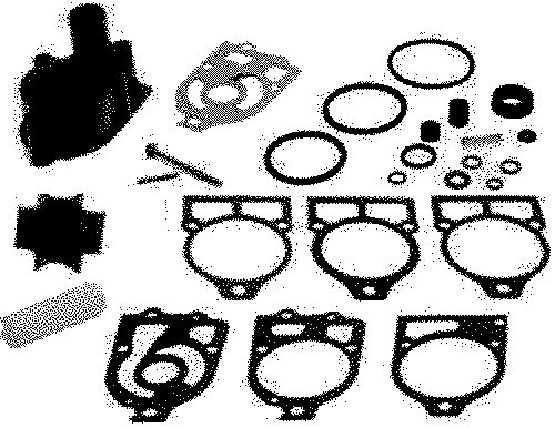 Mercruiser Oe Quicksilver Mc I R Mr Alpha I Water Pump Repair Kit 46