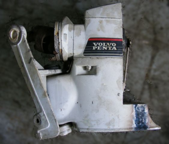 Volvo Penta Duo Prop Parts: Volvo Penta Duo/Dual Propeller DP-D1 Upper Gear Unit For