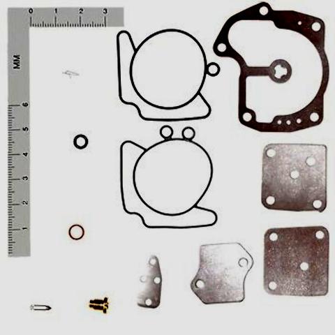 437327 NIB Johnson Evinrude 120-125-130-140-185-200-225-250 Carburetor Kit Rep