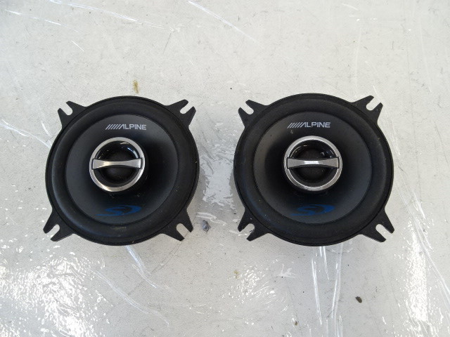 speaker set, dash alpine SPS-410 pair