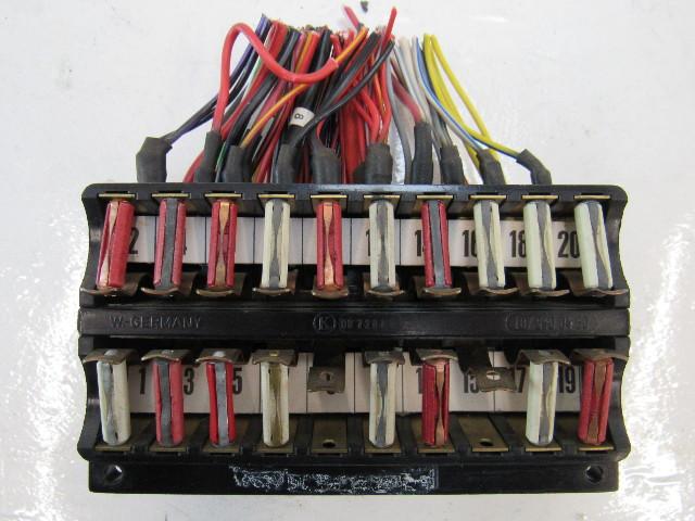 87 Mercedes R107 560sl Fuse Box 1075400450