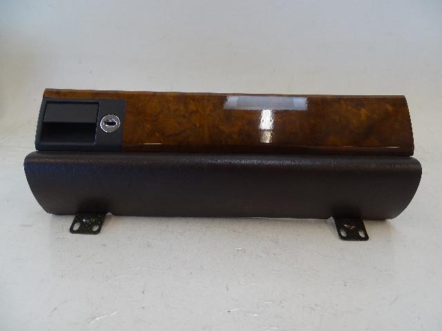 87 Mercedes W126 560SEC glovebox door, brown, burlwood