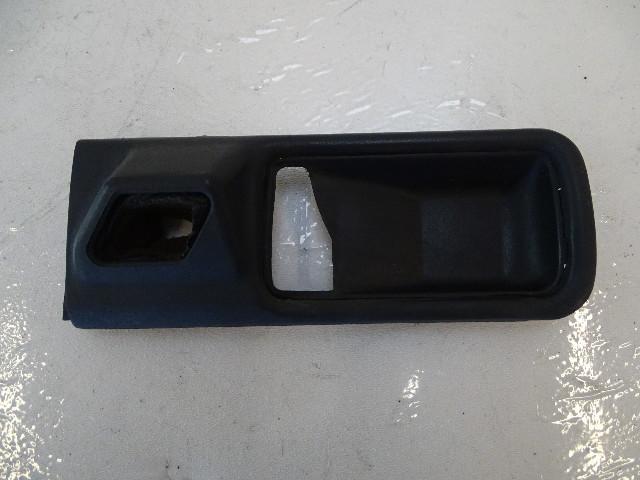 87 Mercedes W126 560SEC trim, interior door handle surround, left 1267660111