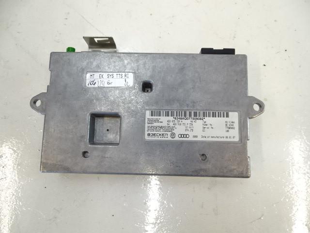07 Audi D3 A8 module, mmi interface 4e0035729