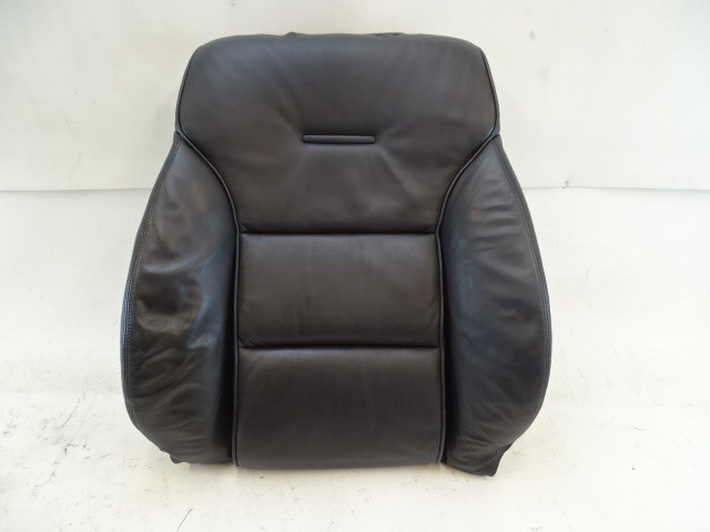 07 Audi D3 A8 seat cushion, back, right front, black