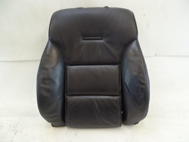 07 Audi D3 A8 seat cushion, back, left front, black