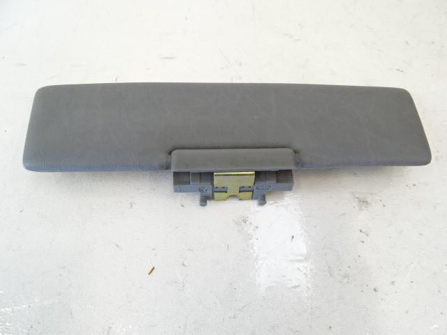 89 Mercedes W126 420SEL 560SEL sunvisor, center, gray