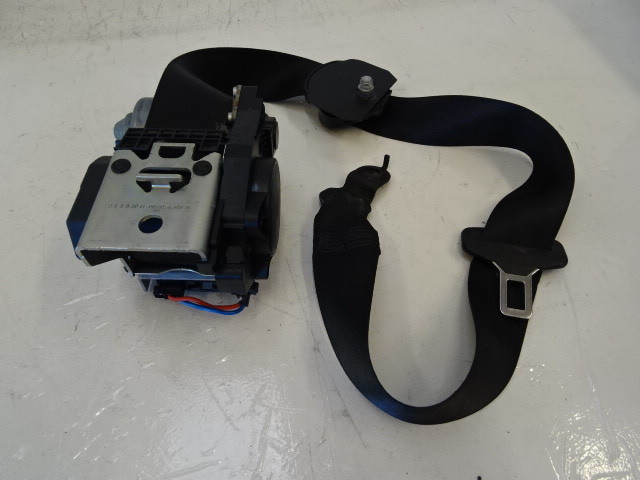 07 Mercedes W219 CLS63 CLS550 seat belt, left front, black