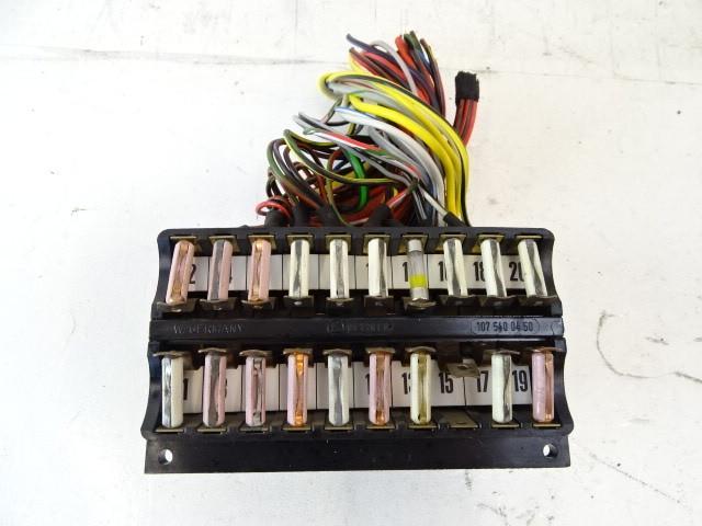 80 Mercedes R107 450SL fuse box 1075400450 | eBay | 1980 Mercedes 450sl Fuse Box |  | eBay