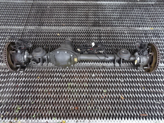 2000 Mercedes W463 G500 axle assembly, front 4633303600