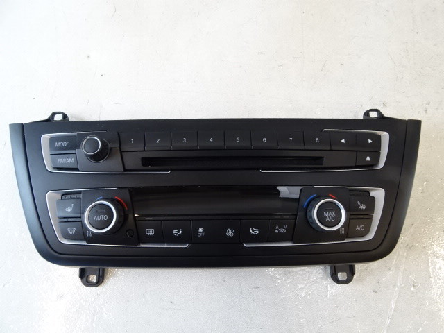 14 BMW F30 328i 328 switch, heater a/c climate control 61319261103