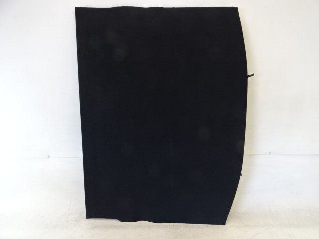 19 Subaru Crosstrek cover, rear floor carpet trim board, black