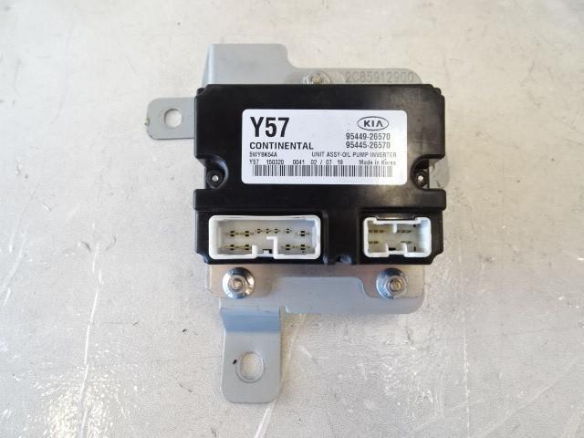 16 Kia Soul module, oil pump inverter 95449-26570