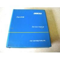 Fiat X1/9 service repair manual