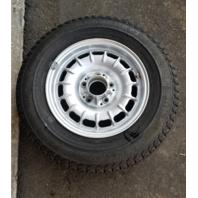 Mercedes R107 450SL 380SL wheel, 6x14 1084000902 silver w/tire